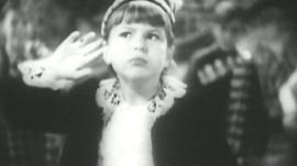 Annie Ross performing as a child