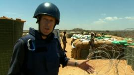 Andrew Harding in Somalia