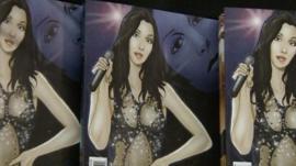 The Cher comic book