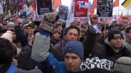 Russians demand fair elections