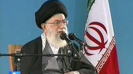 Iran's Supreme Leader, Ayatollah Khamenei.