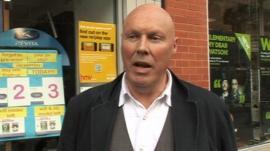 Man in Swindon