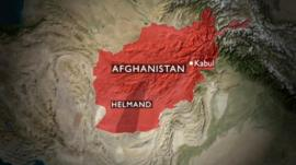 Graphic - map of Afghanistan