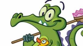 Swampy the Alligator