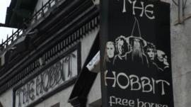 The Hobbit pub in Southampton