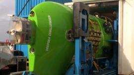 James Cameron's one-man submarine
