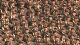 N Korea military