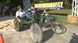 Moonbuggy racing