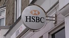 HSBC Bank announces 200 jobs are to go across the south of England