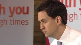 Ed Miliband in Harlow