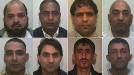Defendants in Rochdale grooming trial