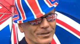 Jubilee spectator