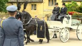 Robin Gibb funeral