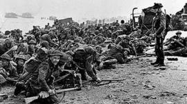 Soldiers at D-Day