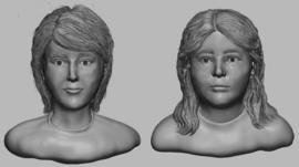 artist rendering of missing kids