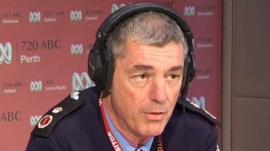 Western Australian Police Commissioner Karl O'Callaghan