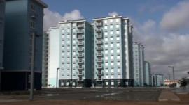'Ghost town' in Angola