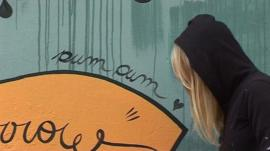 Jimena Pum Pum, graffiti artist from Buenos Aires