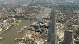 The Shard and River Thames