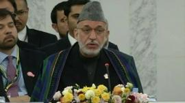 Afghanistan's President Karzai