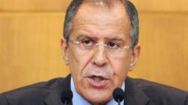 Russian Foreign Minister Sergei Lavrov