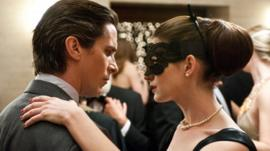 Christian Bale and Ann Hathaway