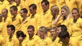 Team Australia in Tonbridge