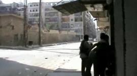 Aleppo street scene