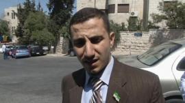 Mohammed el-Etri spokesman for former Syrian prime minister Riad Hijab