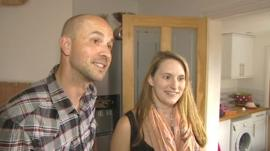 Ed and Claire Cook, residents of Rosehill Street in Cheltenham