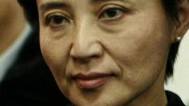 Gu Kailai. File photo