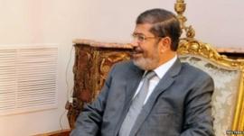 Egyptian President Mohammed Mursi