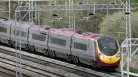 Virgin train