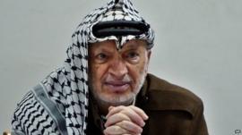 Yasser Arafat - file photograph