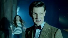 Doctor Who and assistant Amy