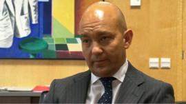 Spain's Deputy Minister for Trade Jaime Garcia Legaz