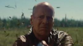 Bruce Willis in The Looper