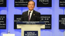 Chinese Premier Wen Jiabao