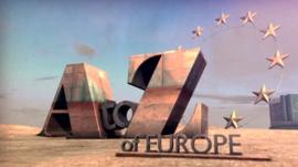 A to Z of Europe graphic