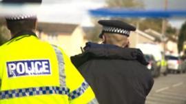 Police in in Hattersley