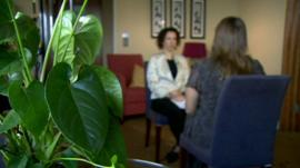 The BBC's Jane Dreaper spoke to Martin's wife