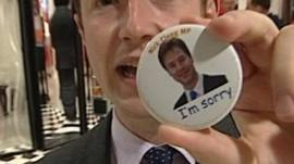 Nick Clegg badge
