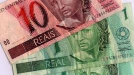 Brazil Real currency