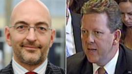 Ian Horesman Sewell (left) and David Taylor-Smith