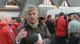 Tim Willcox in Machynlleth