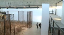 Gagosian Gallery at Le Bourget Airport, Paris