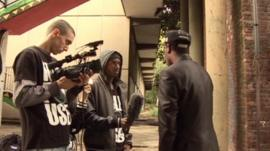 Youth media organisation called Fully Focused talked to youngsters about youth crime
