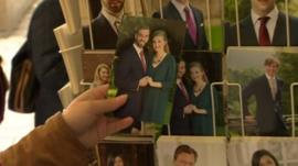 Postcards of Crown Prince Guillaume and the Belgian Countess Stéphanie de Lannoy