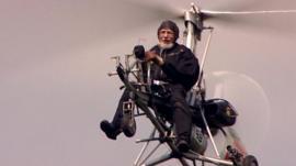 Retired Wing Cdr Ken Wallis