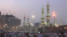 Mosque at Eid